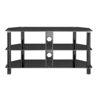 Innovex Concord Black TV Stand