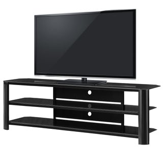 Fold 'N' Snap Oxford EZ Black Innovex TV Stand (2 options available)