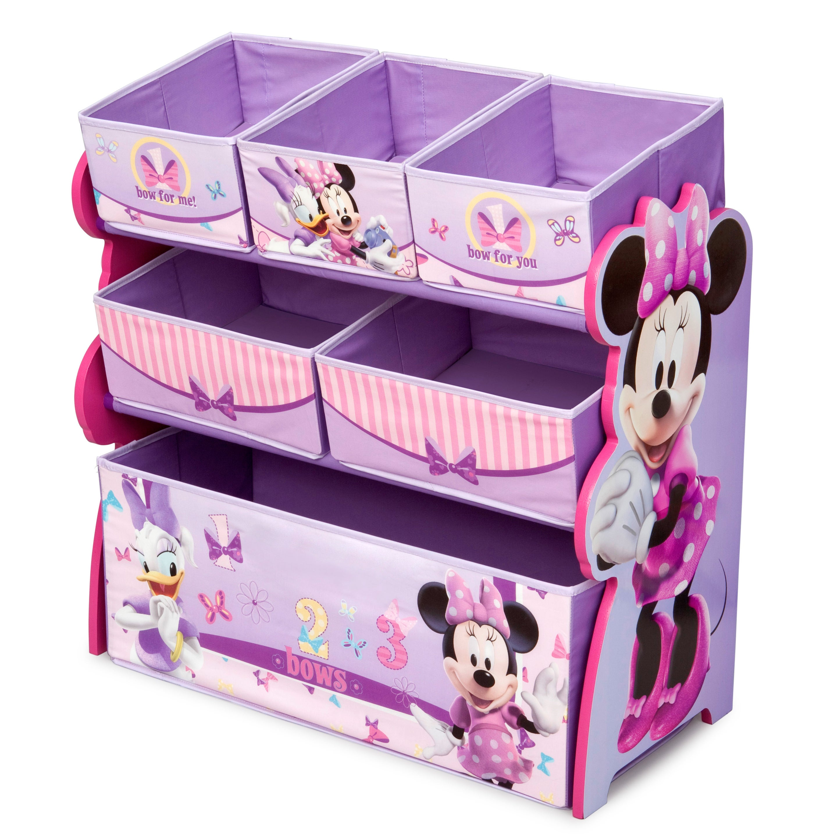 Delta Multi Bin Organizer (Minnie Mouse), Pink