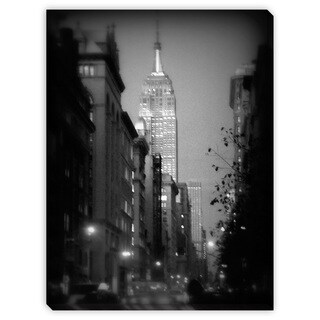Gallery Direct Miriam Danar's 'Empire State In Soft Focus' Canvas Gallery Wrap Wall Art