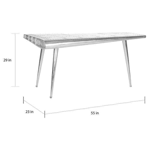 Safavieh Aviator Silver Console Table 55 X 23 29