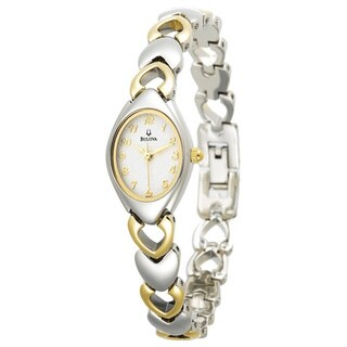 Bulova Women's 98V02 Two-tone Bracelet Dress Watch