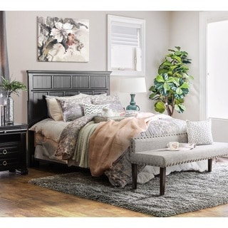 Furniture of America Willow Cottage Style Full-to-Queen Headboard - Thumbnail 0