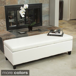 Gable Storage Ottoman by Christopher Knight Home