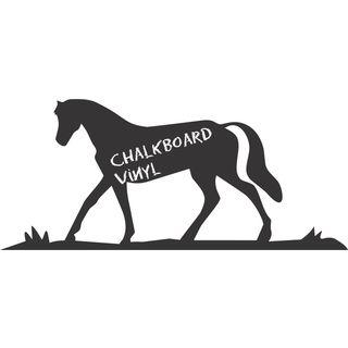 Vinyl Horse Chalkboard