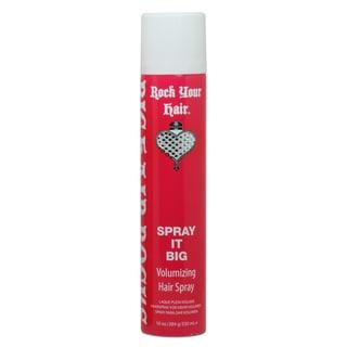 Rock Your Hair Spray It Hard Big Volume 10-ounce Hairspray