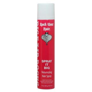 Rock Your Hair Spray It Hard Big Volume 10-ounce Hairspray
