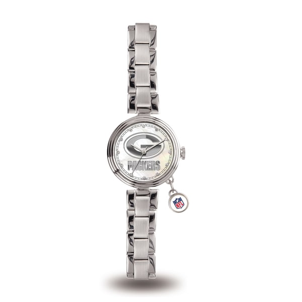 Sparo Green Bay Packers NFL Charm Watch