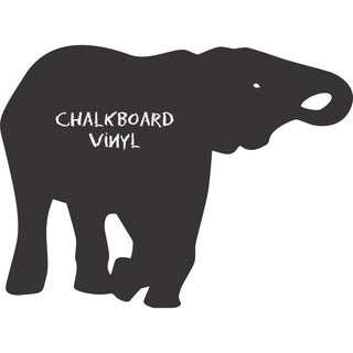 Vinyl Elephant Chalkboard