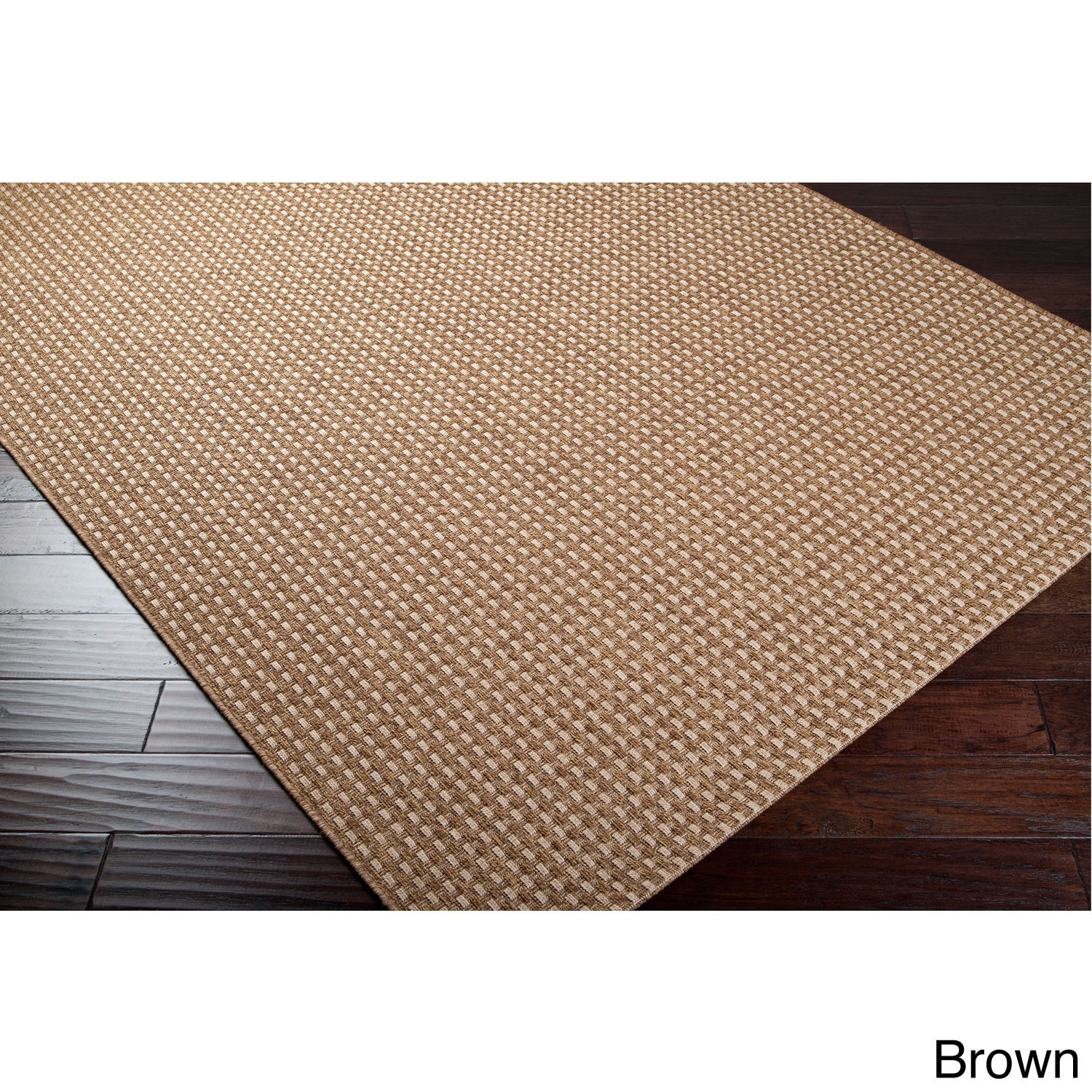 Meticulously Woven Meryl Solid Indoor/ Outdoor Area Rug (...