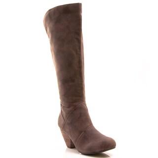 Gomax Women's 'Afton 14' Vegan Suede Boot