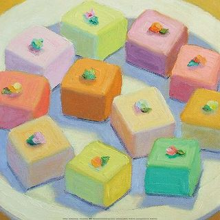 Patricia Doherty 'Petit Fours' Canvas Art