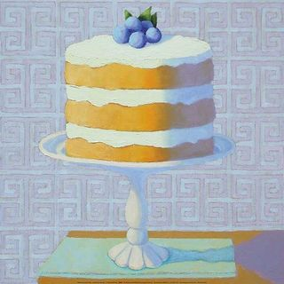 Patricia Doherty 'Blueberry Cream Torte' Canvas Art