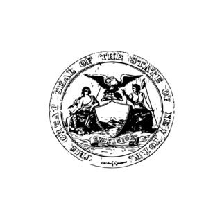 Seal of the State New York Vinyl Wall Art