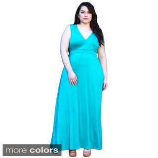 Sealed With a Kiss Women's Plus Bonnie Maxi Dress