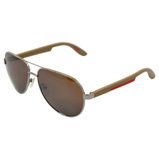 Carrera Unisex 5009/S 0TO8G Ruthenium/ Brown Sunglasses