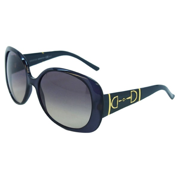 685b8c6ce1d Shop Gucci Women s GG 3536 S 5E9DX Dark Blue Sunglasses - Free ...
