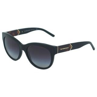Burberry Women's BE 4156 3001/8G Black Sunglasses