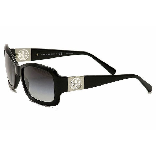94d674a465cc Tory Burch Women  x27 s TY 9028 501 11 Square Grey Gradient Sunglasses