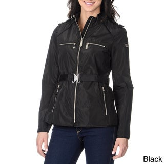 Vince Camuto Women's Belted Nylon Jacket