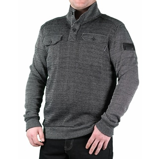 MO7 Men's Multi Textured Knit Pullover