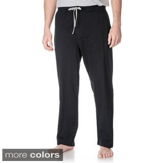 Hanes Men's Big and Tall Solid Knit Lounge Pants (Set of 2)