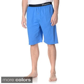 Hanes Men's Solid Lounge Shorts (Set of 2 pairs)