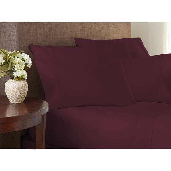 Hotel Collection 500 Thread Count Cotton Rich Performance Sheet Set with 2 Bonus Pillowcases