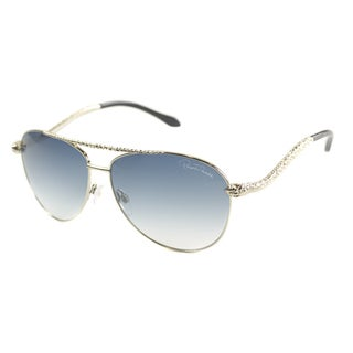 Roberto Cavalli Women's 'RC 899 Hoedus 28W' Shiny Rose Gold Aviator Sunglasses