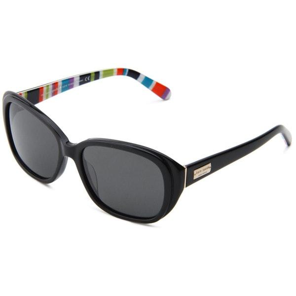 Shop Kate Spade Women's 'Hilde X70P' Black Striped