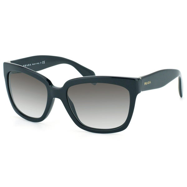 3b2c7c5ea97 Prada Womens   x27 PR 07PS 1AB0A7  x27  Black Plastic Fashion Sunglasses