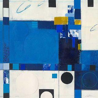 Deborah Colter 'Blueberry Hill III' Canvas Art