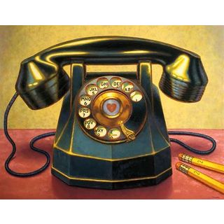 TR Colletta 'Keep in Touch' Canvas Art