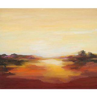 Sarah Davies 'Opening' Canvas Art