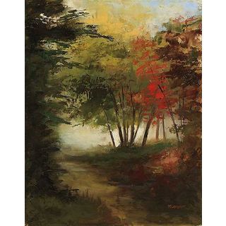 Michelle Condrat 'The Perfect Path' Canvas Art