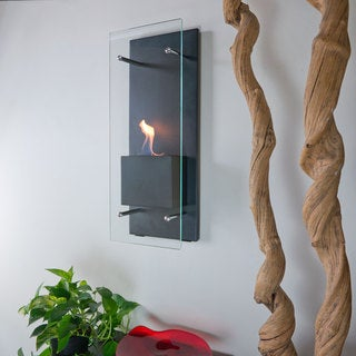 Cannello Wall Mounted Fireplace