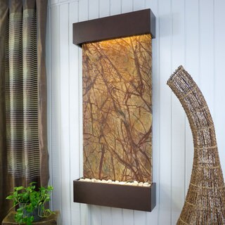 Rainforest Brown Marble Nojoqui Falls Classic Large with Copper Vein Trim