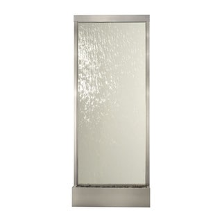 10' Stainless Steel Grande with Clear Glass