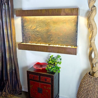 Large Horizon Falls with Copper Patina Trim