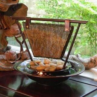 Haiku Moon Tabletop Fountain