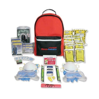 Ready America Emergency Grab-n-Go Two Person Fire / Blackout Kit