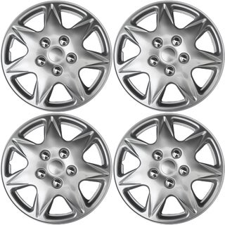 WCA 915 17S Design Hub Cap ABS Silver 17-inch (Set of 4)