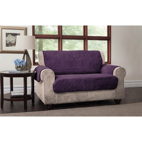 Innovative Textile Solutions Puffs Plush Furniture Protector Sofa Slipcover