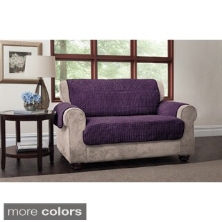 Innovative Textile Solutions Puffs Plush Furniture Protector Loveseat Slipcover