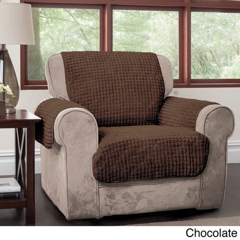 Innovative Textile Solutions Puffs Plush Chair Furniture Protector