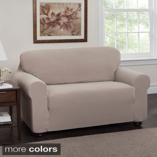 Innovative Textile Solutions Dots Stretch Loveseat Slipcover