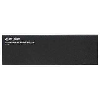 Manhattan 4-Port Professional Video Splitter - VGA, SVGA, MultiSync