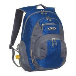 Everest Deluxe Traveler's Laptop Backpack Blue/Grey