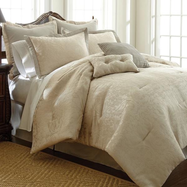 Amraupur Overseas Suite Sensations 8-piece Jacquard Comforter Set