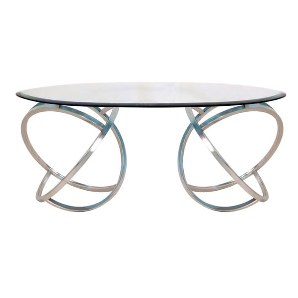 curved coffee table - free shipping today - overstock - 16321399